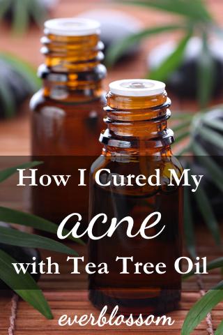 Tea tree oil | how I cured my acne with tea tree oil