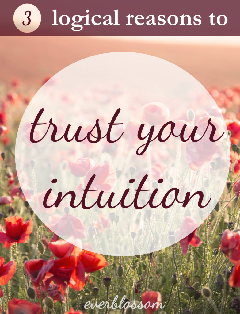 It's not illogical to trust your intuition. Here's why.