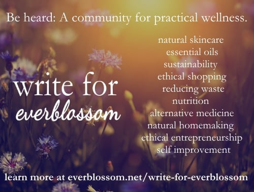 Everblossom is a growing and vibrant online community for those passionate about natural, eco-friendly living. It's not about perfection - it's about doing the best right where we're at and working with what we have.
