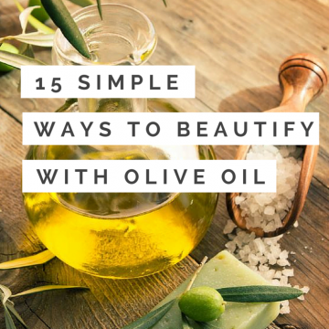15 Crazy-Simple Olive Oil Beauty Uses