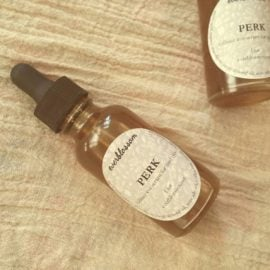 PERK caffeine eye serum: An all natural treatment for dark circles and puffy eyes.