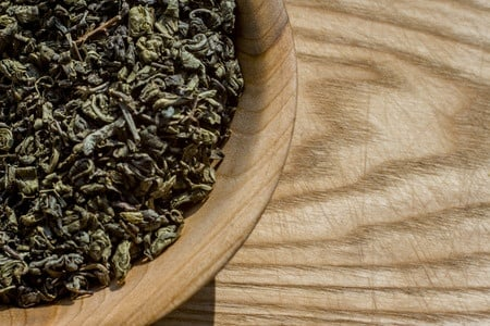 How to make green tea extract