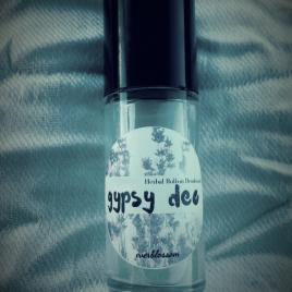 Organic Herbal Roll On Deodorant - Gypsy Deo by Everblossom
