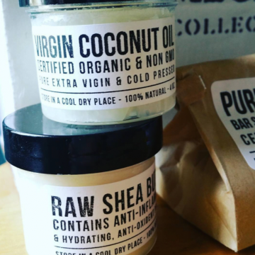 How to Make Your Own Lip Balm with Shea Butter + Coconut Oil