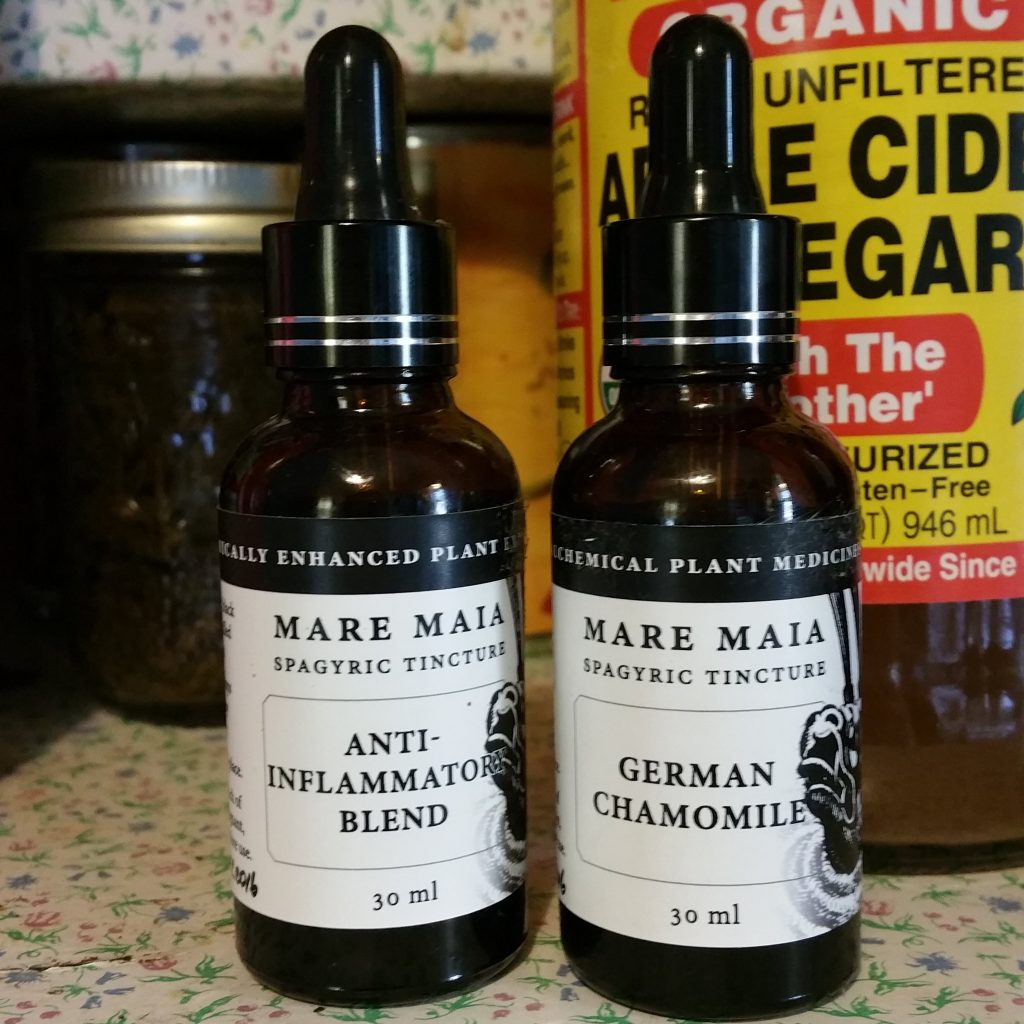 Spagyric tinctures are Alchemically enhanced plant extractions - learn more here and enter to win a wellness package from Mare Maia!