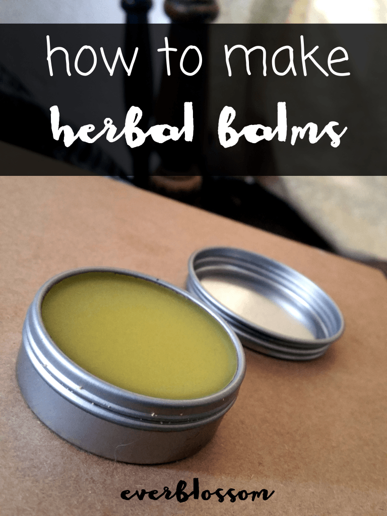 Here's how you can make your OWN custom herbal balms.