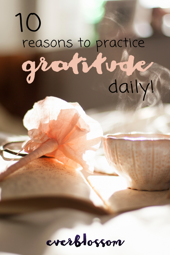 Do you focus on the positive... every day? Here's why you should develop a daily gratitude practice: