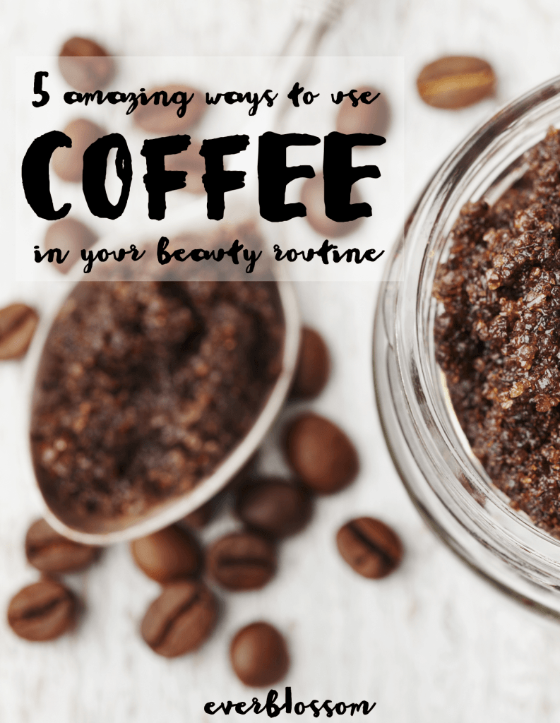 Brilliant ways to use coffee in your green beauty routine.