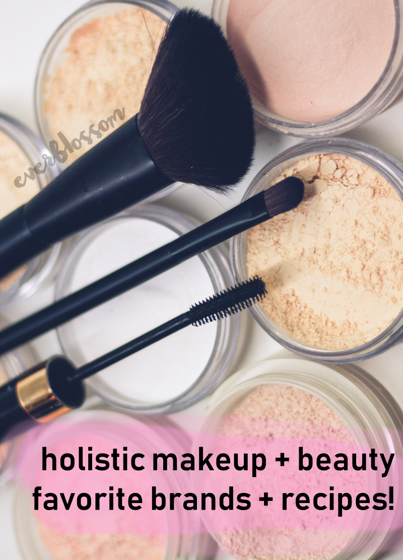 holistic makeup and beauty products